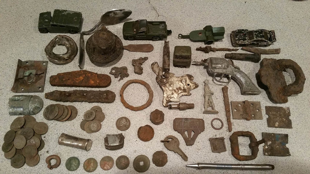 find lost treasure metal detecting